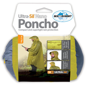 Sea to Summit 15D Poncho lime
